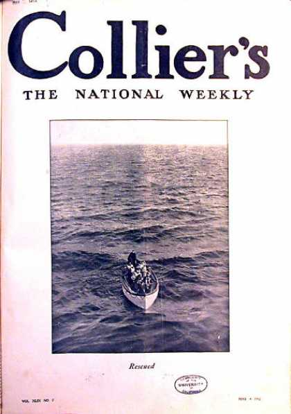 Collier's Weekly - 5/1912