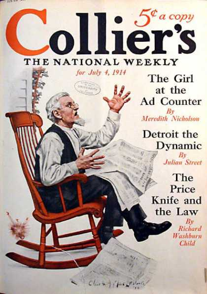 Collier's Weekly - 7/1914