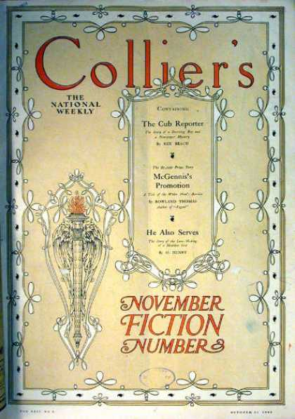 Collier's Weekly - 10/1908