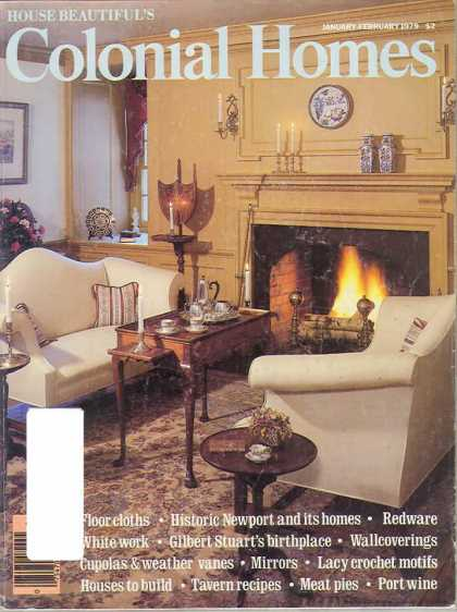 Colonial Homes - January 1979