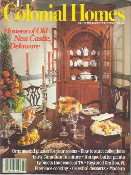 Colonial Homes - September 1980