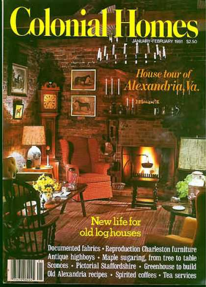 Colonial Homes - January 1981