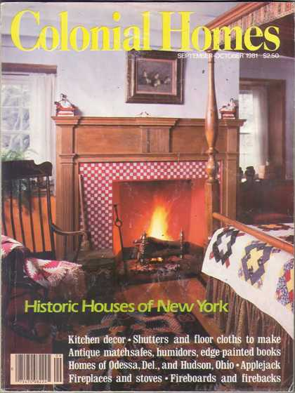 Colonial Homes - September 1981