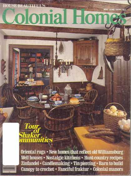 Colonial Homes - May 1979