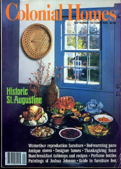 Colonial Homes - September 1982