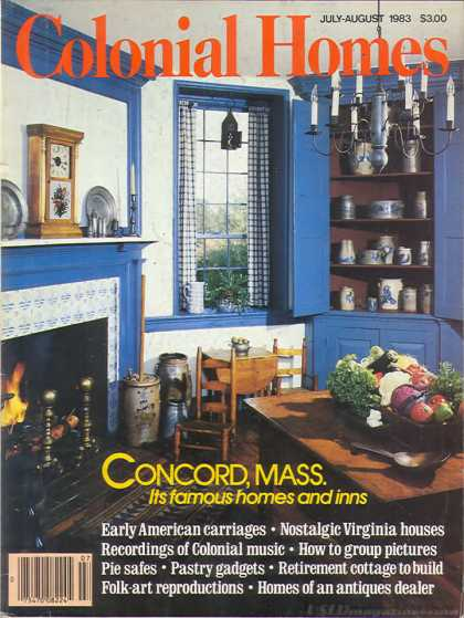Colonial Homes - July 1983