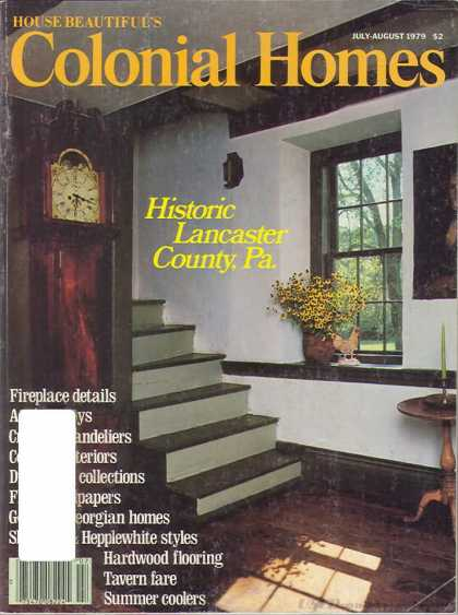 Colonial Homes - July 1979