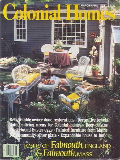 Colonial Homes - March 1985