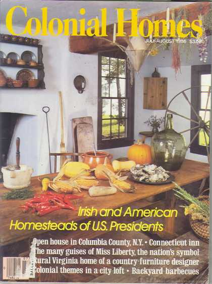 Colonial Homes - July 1986