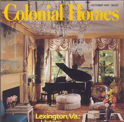 Colonial Homes - October 1991