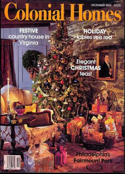 Colonial Homes - December 1993