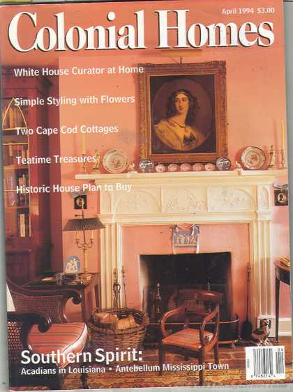 Colonial Homes - April 1994