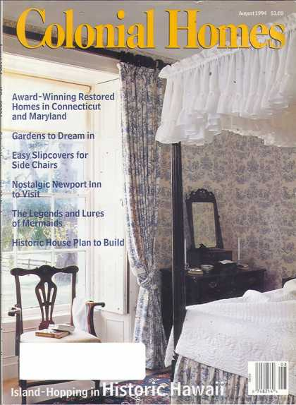 Colonial Homes - August 1994