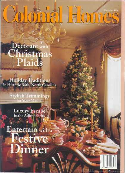 Colonial Homes - December 1994