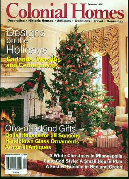 Colonial Homes - December 1996