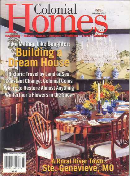 Colonial Homes - February 1997