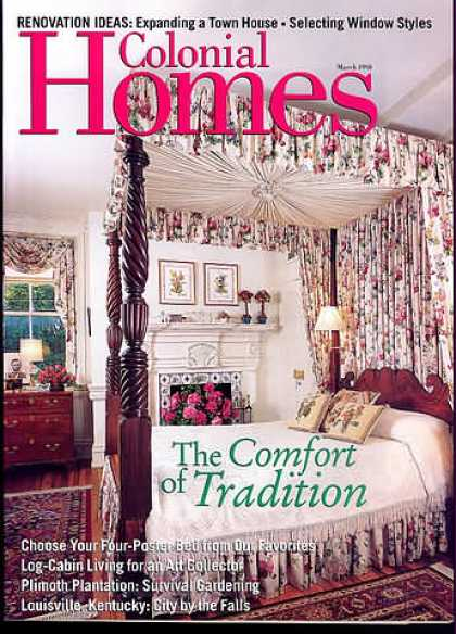 Colonial Homes - March 1998