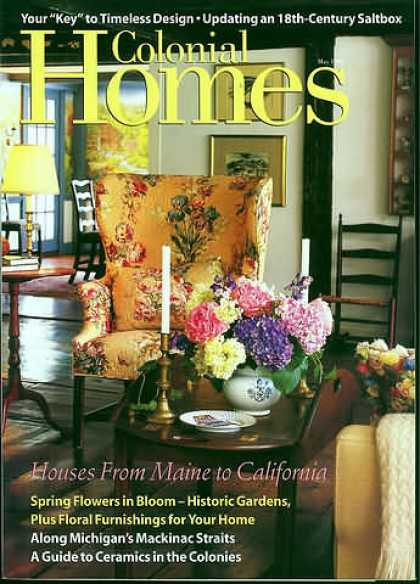 Colonial Homes - May 1998