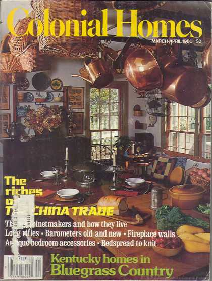 Colonial Homes - March 1980