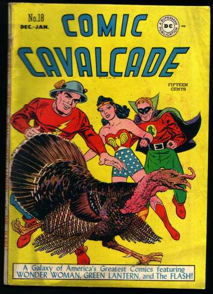 Comic Cavalcade 18 - Wonder Woman - Green Latern - The Flash - Turkey - Superman Publication