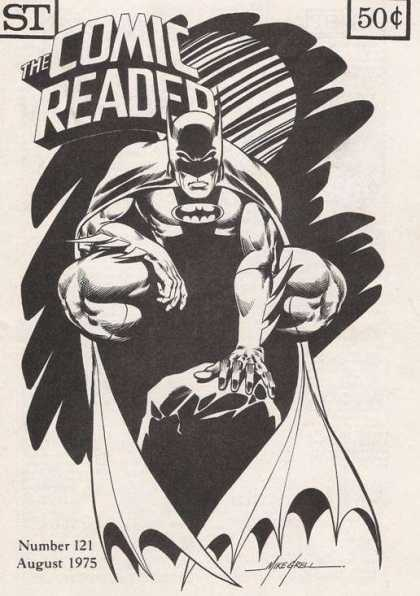 Comic Reader 121 - Batman - Black And White - 121 - August - 1975