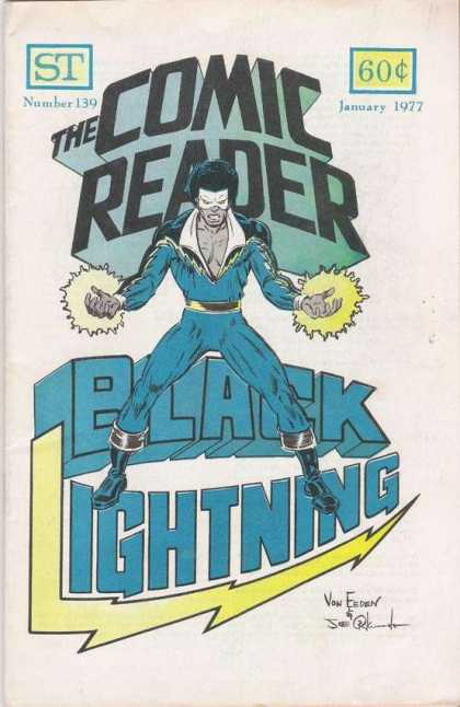 Comic Reader 139 - January 1977 - Number 139 - Black Lightning - Lightning Bolt - Von Esden