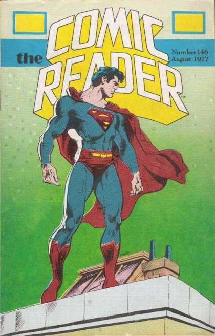 Comic Reader 146 - Superman - Cape - Numbe 146 - August 1977 - Muscles