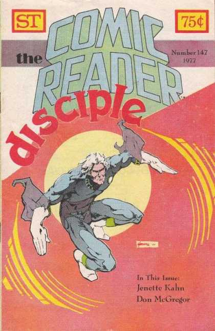 Comic Reader 147 - Disciple - White Gloves - Fyling - White Hair - Circle