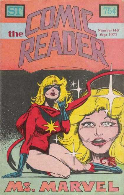 Comic Reader 148 - Number 148 - Woman - Space - Ms Marvel - Cloak