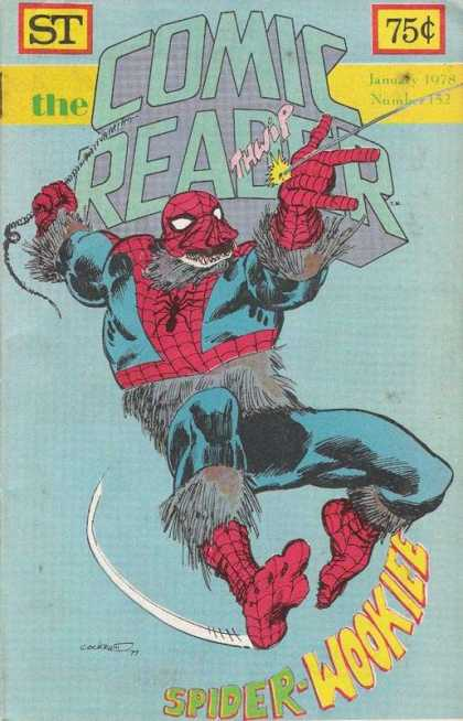 Comic Reader 152 - Comic Reader - Thwip - Spider-wookiee - 1978 - January