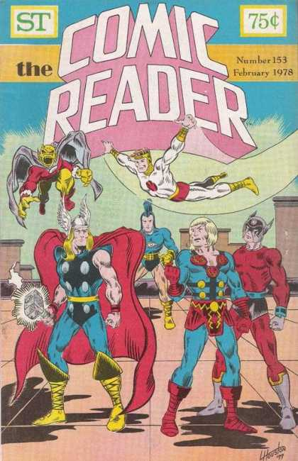 Comic Reader 153 - Thor - 153 - February 1978 - Fly - Blue