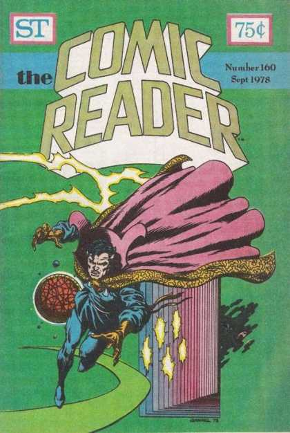Comic Reader 160 - Red Cape - Super Hero - Claws - Red Ball - Green Path