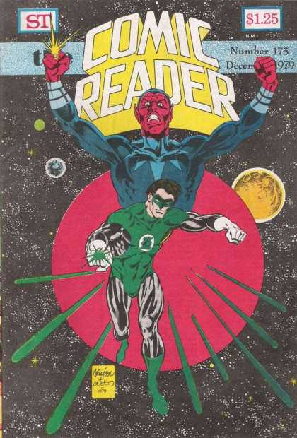 Comic Reader 175 - Grean Lantern - Planets - Star Field - December 1979 - Number 175