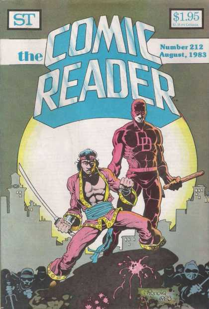 Comic Reader 212 - Mike Mignola