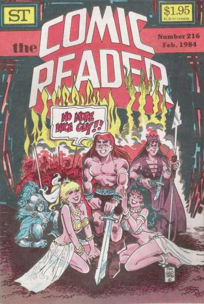 Comic Reader 216 - No More Nice Guy - Archie - Barbarian - Sword - Veronica - Stan Goldberg