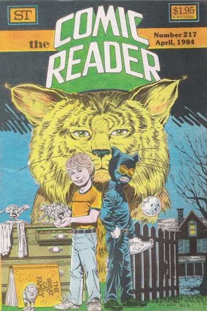 Comic Reader 217 - The Great Cat Family - One Little Boy - The Moon - House - Gate
