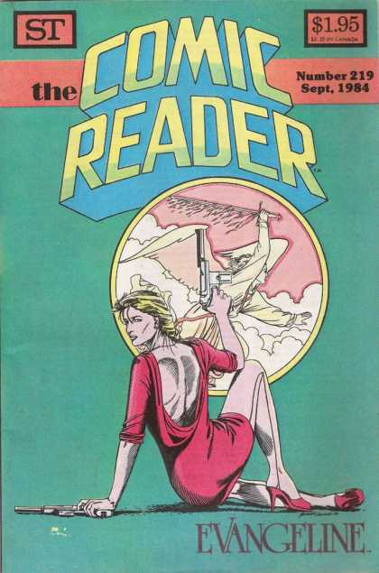 Comic Reader 219 - St - Number 219 - Gun - Sept1984 - Evangeline
