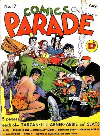 Comics on Parade 16
