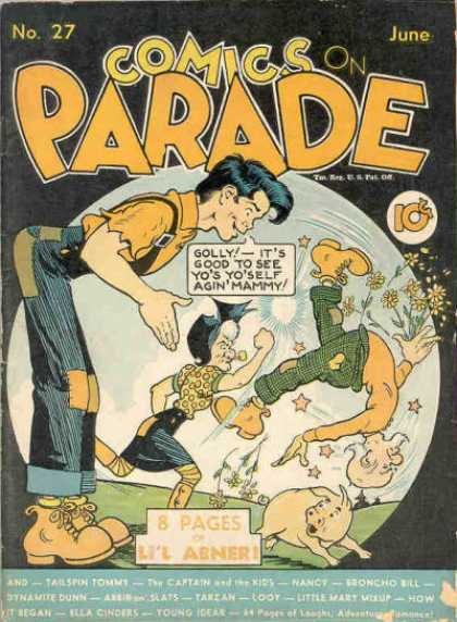 Comics on Parade 25