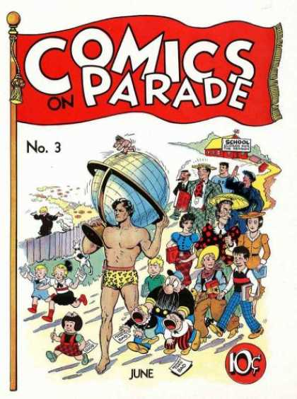 Comics on Parade 3