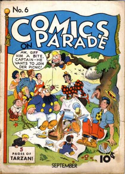 Comics on Parade 6