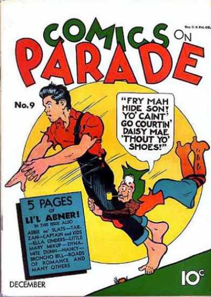 Comics on Parade 9