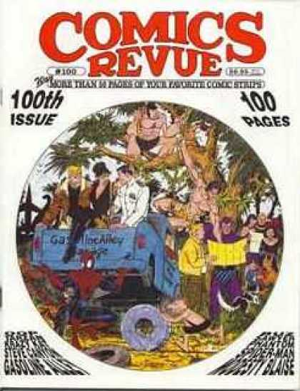 Comics Revue 100 - 100 - Years - Pages - Favorite - Best