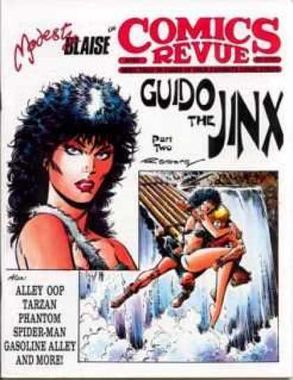 Comics Revue 101 - Guido The Jinx - Modest Blaise - Alley Oop - Tarzan - Phantom