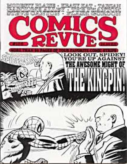 Comics Revue 106 - Spider-man - Kingpin - Flash Gordon - Tarzan - Krazy Kat
