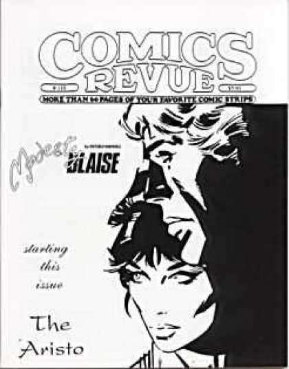 Comics Revue 110 - Woman - Man - Black - White - Love