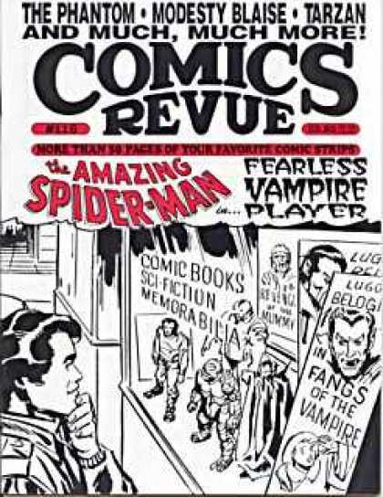 Comics Revue 116 - The Phantom - Modesty Blaise - Tarzan - Spider-man - Fearless Vampire Player