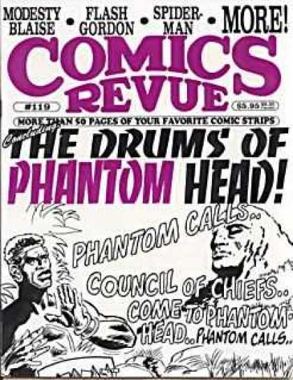 Comics Revue 119 - Spider-man - Flash Gordon - Drums - Head - Phantom
