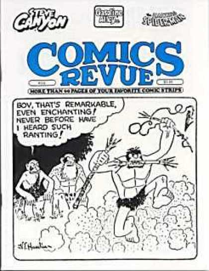 Comics Revue 121 - Steve Canyon - Spiderman - Boy - Thats Remarkable - Even Enchanting