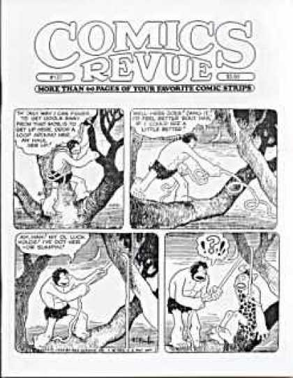 Comics Revue 137 - Lord Of The Jungle - Tarzan - Rope - Leapord Print - Climbing